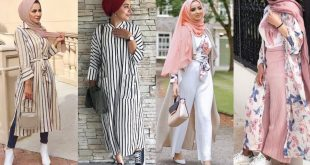 صور ملابس الصيف للمحجبات 2019 , اشيك الموديلات الصيفيه الجديده