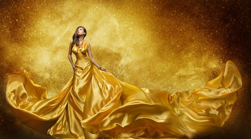 صورة اللون الذهبي في المنام للعزباء , تفسير رؤية الذهب في الحلم