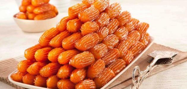 صورة حلويات بلح الشام , طريقة تحضير الحلويات الشرقية