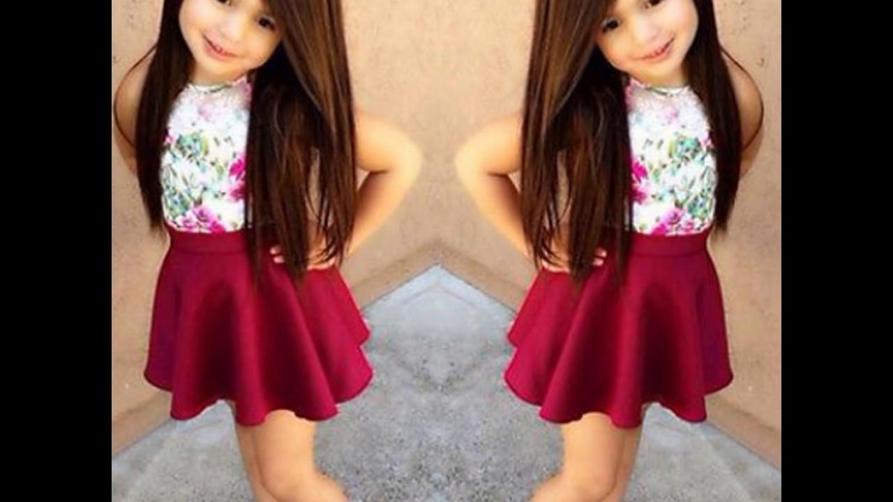 صورة ملابس العيد للبنات , فساتين للفتيات الصغيرة للعيد