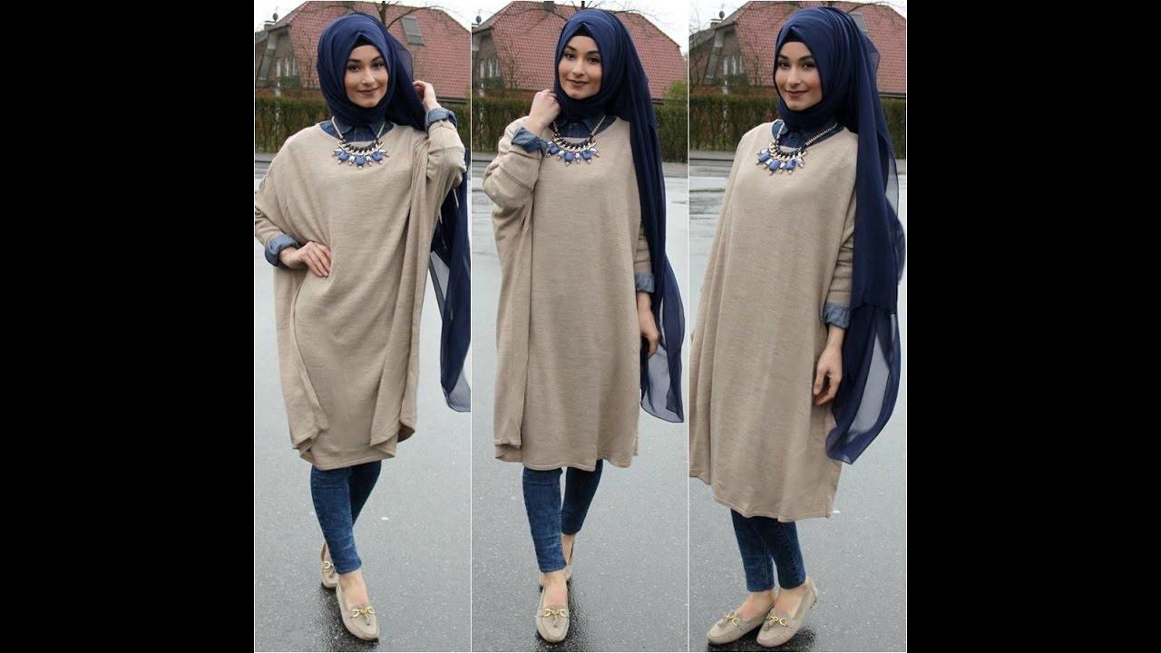 صور ملابس حجاب 2019 , ازياء للمحجبات 2019