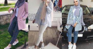 صورة ملابس حجاب 2019 , ازياء للمحجبات 2019