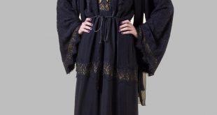 صور عبايات سعودية سوداء , ملابس محتشمة للمحجبة