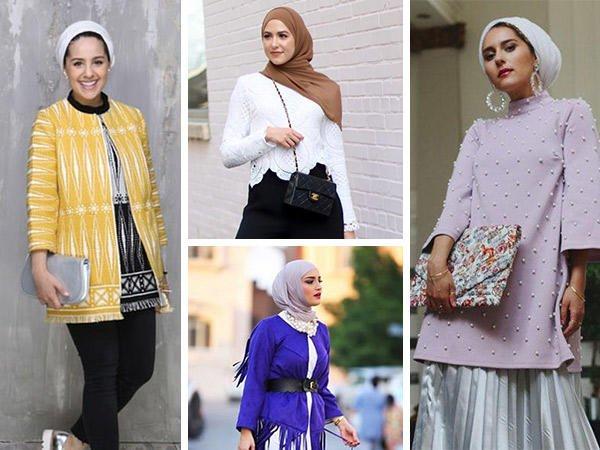 صورة موديلات حجابات فيس بوك , اشيك موديلات المحجبات