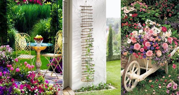صورة افكار لحديقة المنزل , زراعه الورود بحديقة المنزل