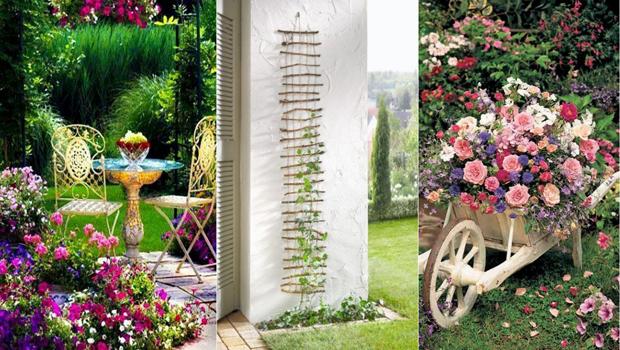 صور افكار لحديقة المنزل , زراعه الورود بحديقة المنزل