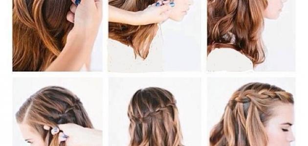 صور طرق عمل تسريحات الشعر , جددي من اطلالتك بين صديقاتك