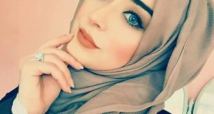 صور البنات محجبات , وجوه بالحجاب مثل البدر