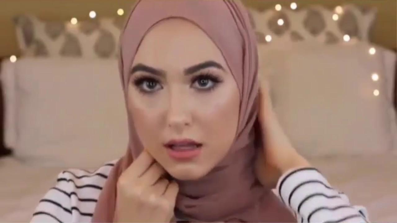 صورة لفات حجاب 2019 , احدث صيحات الموضة في الحجاب