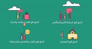 صورة كلمات عن يوم الطفل العربي , الجمال منكوا انتو وبس
