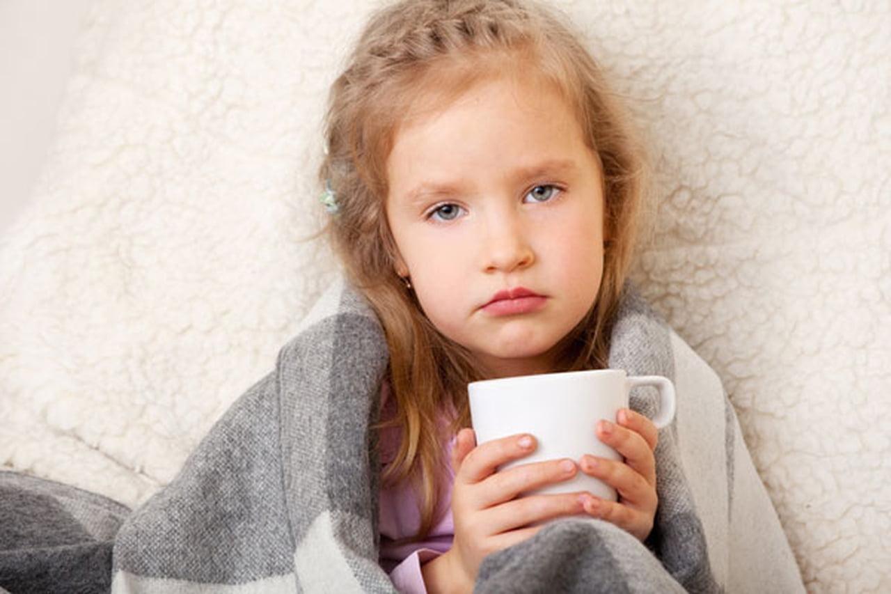 صورة علاج زكام الاطفال بالاعشاب , طفلك مزكم هقلك الحل