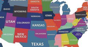 صورة كم عدد ولايات امريكا , الدوله العظي جدا