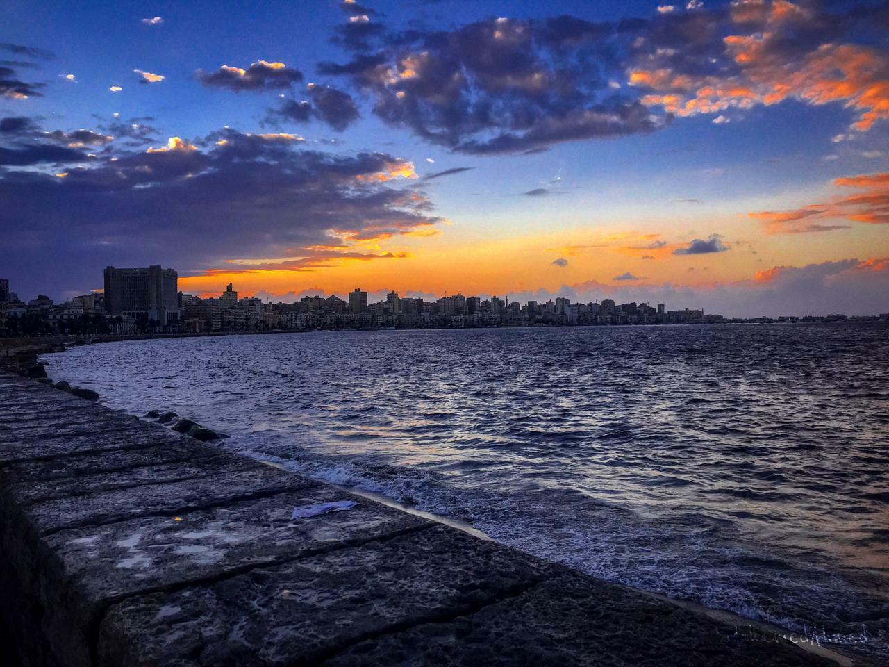 صورة صور اسكندرية في الشتاء , روعة وجمال شتاء الاسكندرية