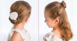 صورة تسريحات للشعر القصير للاطفال للمناسبات , اهتمي بمظهر ابنتك