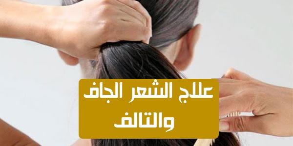 صورة علاج الشعر الجاف , احصلي علي شعر ناعم