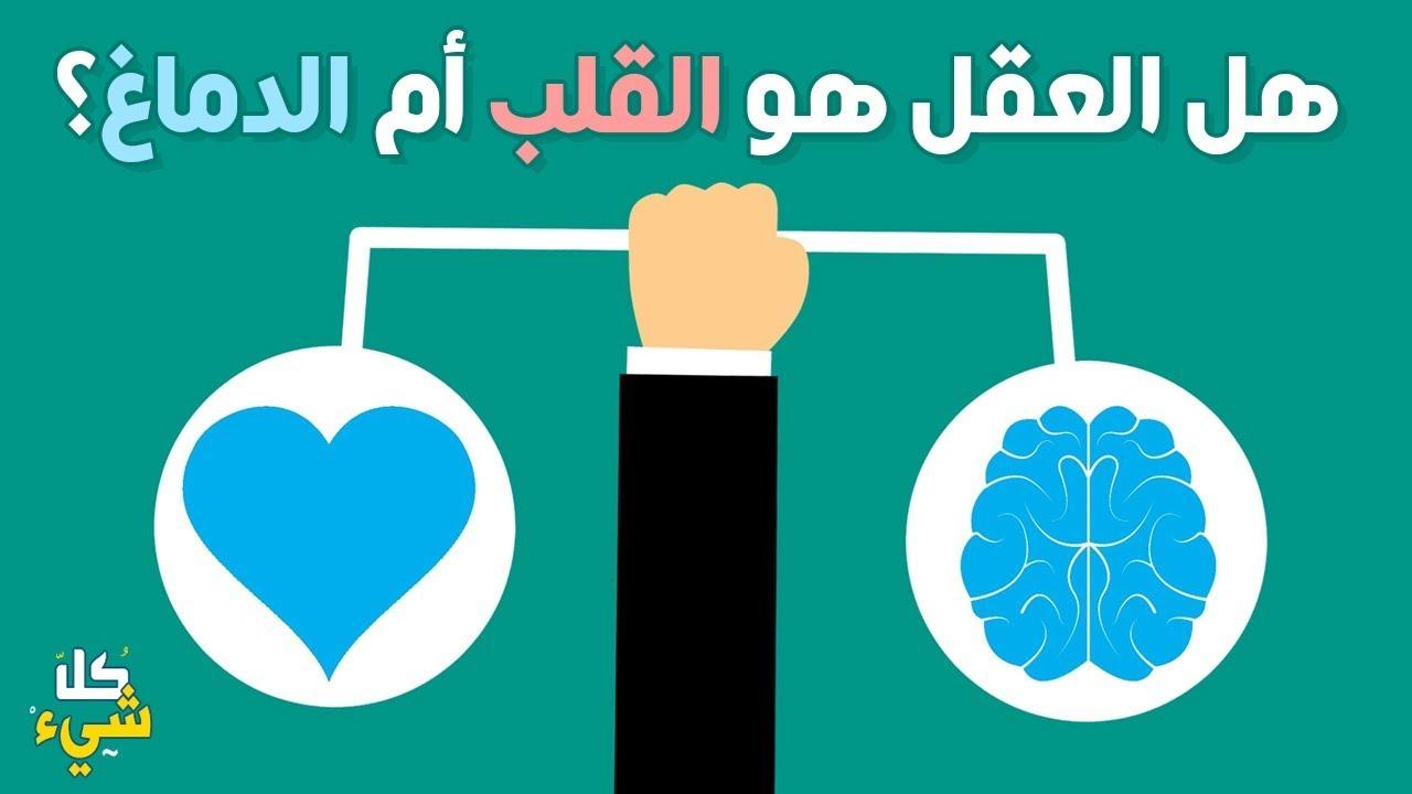 صورة اين يوجد العقل في القلب ام في الدماغ , حير الكثير من العلماء