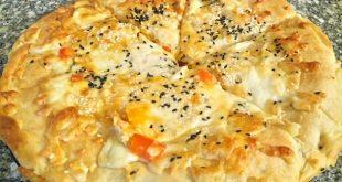 صورة طريقة عمل فطيرة الدجاج , الذ واجمل الاطعمة