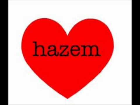 صورة اسم حازم بالانجليزي , الجلوس كثيرا عليه