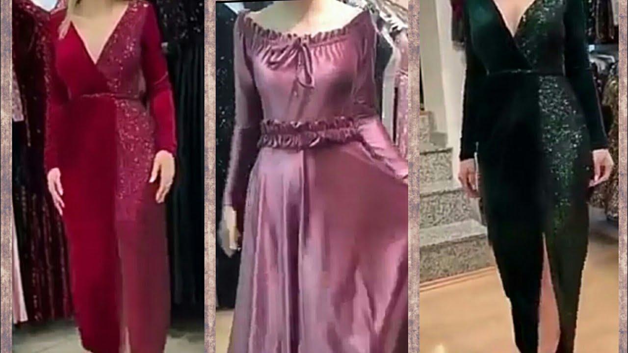 صورة جديد قنادر قطيفة , اجمل الفساتين تحفة