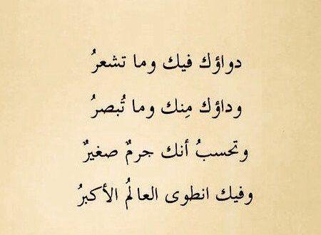 صورة اشعار بسيطة وجميلة، ارق واجمل كلمات الشعر بالصور
