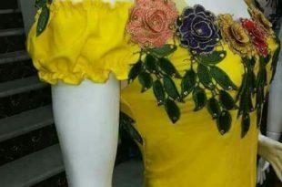 صورة خياطات قنادر جزائرية , طريقة سهلة لخياطة القندورة الجزائرية