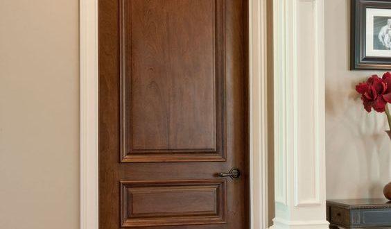 صورة افضل لون للابواب الخشب , للابواب الخشبية الوان رائعة اعرفها
