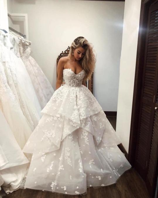 صورة تمبلر فساتين زفاف , شاهد اجدد تمبلر لفساتين الزفاف