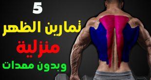 تقوية عضلات الظهر , لكل من يريد عضلات