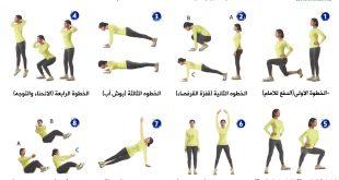 تمارين اللياقة البدنية, عيش حياتك بصحة ورياضة وتمارين