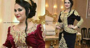 صورة قنادر عرس جزائرية، أجمل ملابس جزائرية تحفة للعروس
