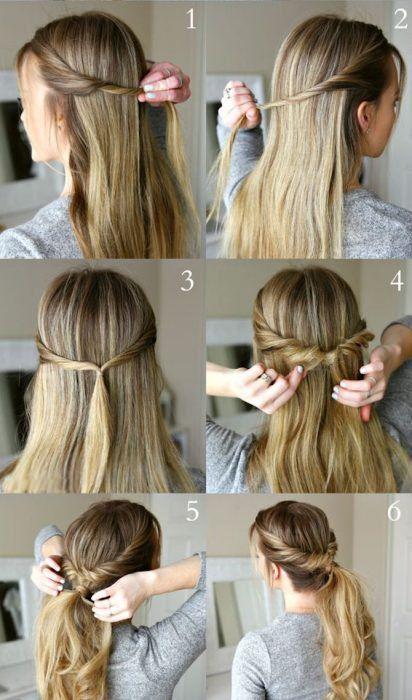 صورة اجمل تسريحات شعر بسيطة , تسريحة شعر قمة الروعة